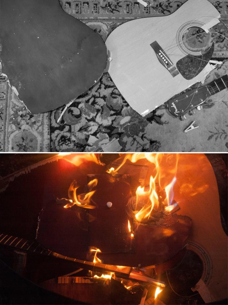 burning composite